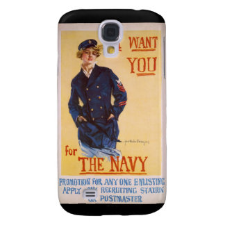 I Want You For The Navy World War I Recruiting Samsung S4 Case