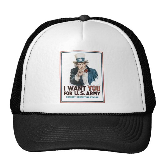 I Want You! For the United States Army Trucker Hat