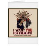 I want you fuero desayuno felicitaciones