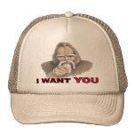 I want You: Gone Squatchin Trucker Hat