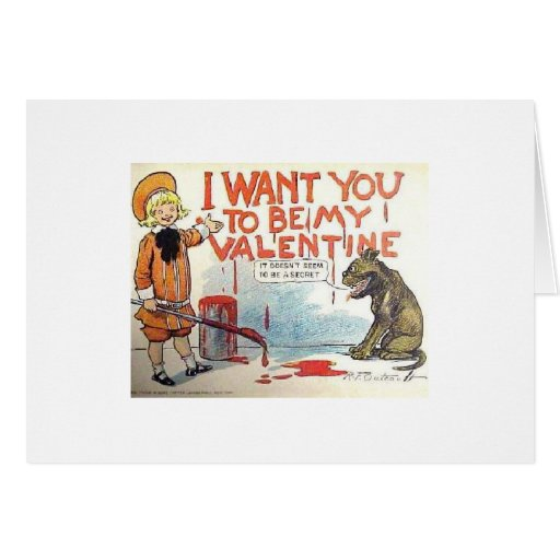 I Want You Greeting Cards