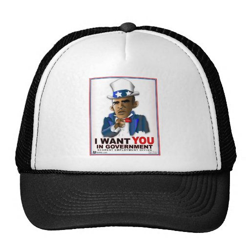 I Want You in Government Trucker Hat