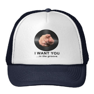 I Want You in the Groove Trucker Hat