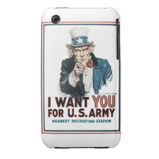 I Want You iPhone 3 Covers