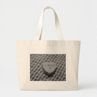 I Want You Large Tote Bag