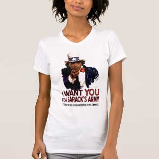 I Want You - Obama Political Ladies' Tee