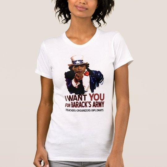 I Want You - Obama Political Ladies' Tee
