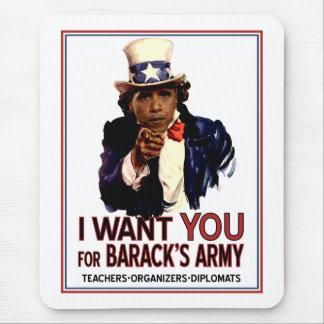 I Want You - Obama Political Mouspad Mouse Pad
