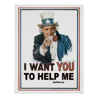 I Want You Obama Poster