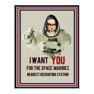 I Want YOU Postcard