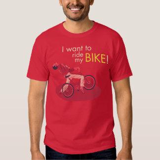 I Want You Ride My Bike Shirt