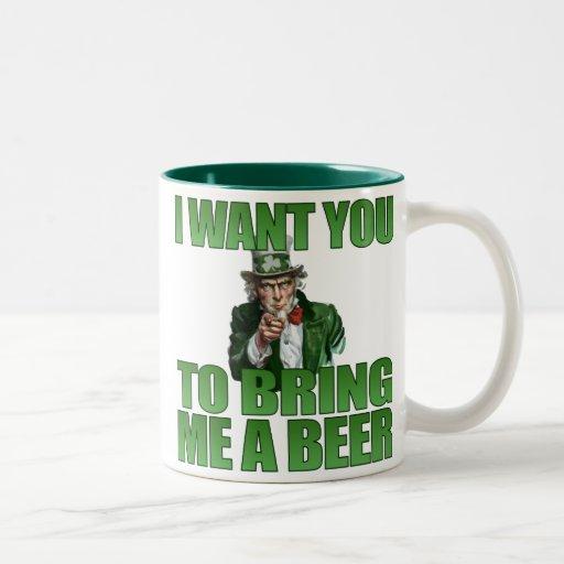 I Want You to Bring Me a Beer Mug