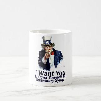 I Want You:  To Cover Yourself Coffee Mug