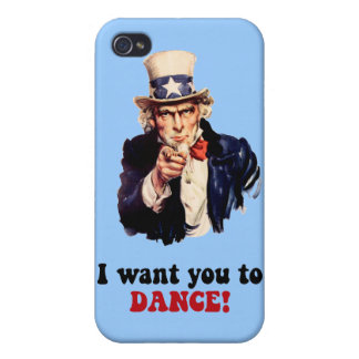 I WANT YOU TO DANCE CASE FOR iPhone 4