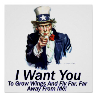 I Want You:  To Grow Wings Poster