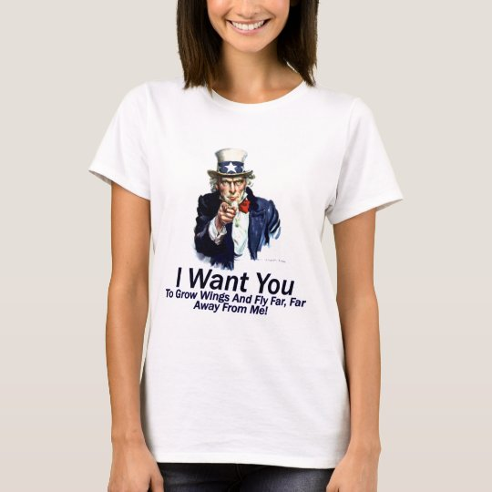I Want You:  To Grow Wings T-Shirt