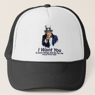 I Want You:  To Grow Wings Trucker Hat