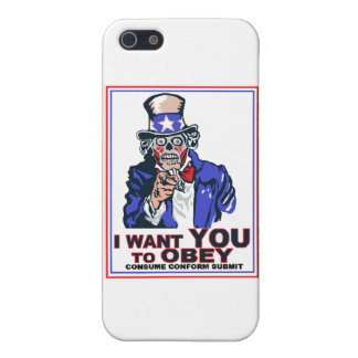 I Want You to OBEY! iPhone 5 Covers