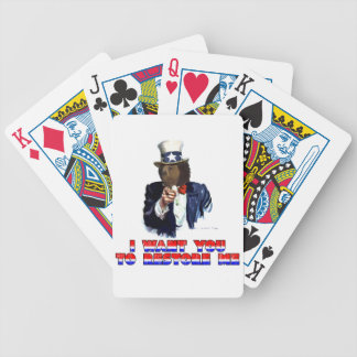 I WANT YOU TO RESTORE ME BICYCLE POKER CARDS