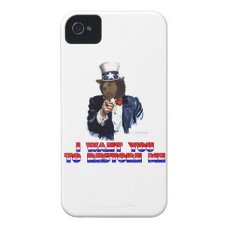 I WANT YOU TO RESTORE ME Case-Mate iPhone 4 CASES