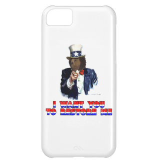 I WANT YOU TO RESTORE ME COVER FOR iPhone 5C