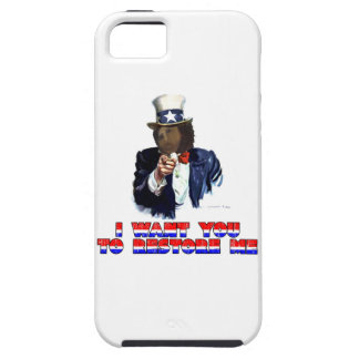 I WANT YOU TO RESTORE ME iPhone SE/5/5s CASE