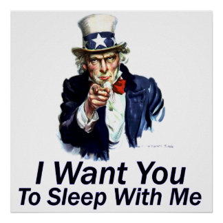 I Want You:  To Sleep With Me Poster