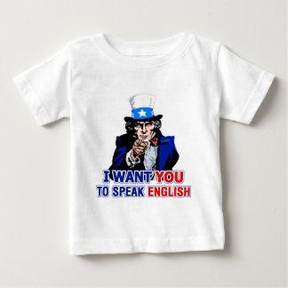 I Want You To Speak English Infant / Toddler Tee