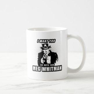 I want you to vote for Meg Whitman Mug