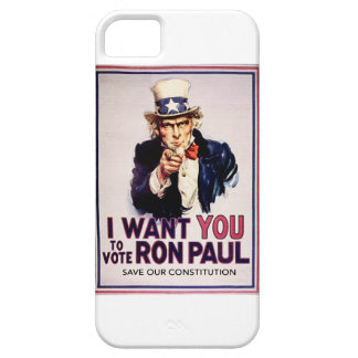 I Want You To Vote For Ron Paul Revolution iPhone 5 Cover
