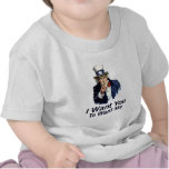 I Want You: To Want Me T Shirts