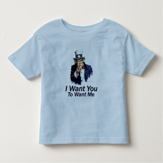 I Want You: To Want Me Toddler T-shirt