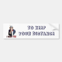 I Want You (Uncle Sam) Bumper Stickers