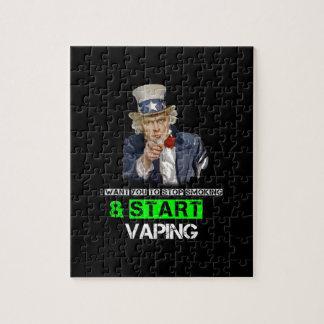 I Want You Uncle Sam Vape Jigsaw Puzzle