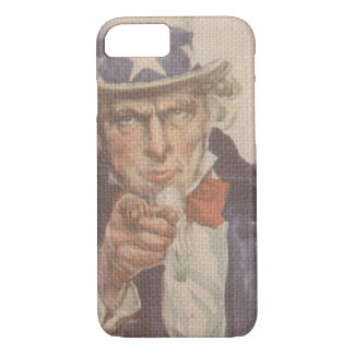 I Want You War Effort James Montgomery Flagg iPhone 8/7 Case