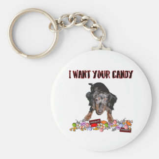 I Want Your Candy Keychain