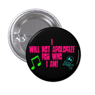 I wants emergency… pinback button