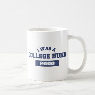 I Was a College Hunk Classic White Coffee Mug