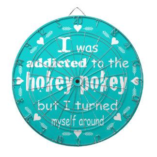 I was Addicted to the Hokey Pokey Dartboard