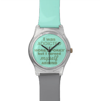 I was Addicted to the Hokey Pokey Wristwatch