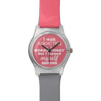 I was Addicted to the Hokey Pokey Wristwatches
