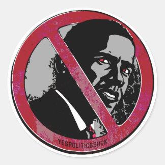 I Was Anti-Obama Before Classic Round Sticker