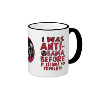 I Was Anti-Obama Before Mug
