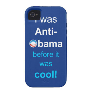 I WAS ANTI-OBAMA VIBE iPhone 4 COVER