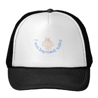 I was Baptized Today Trucker Hat