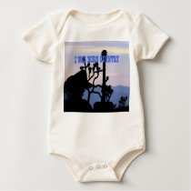 I Was Born Country Baby Bodysuit