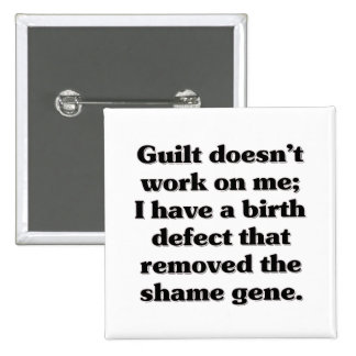 I was born guilt free button