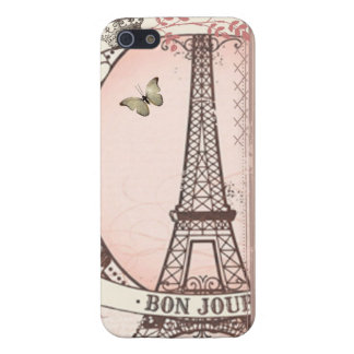 I Was Born to Live in Paris Cover For iPhone SE/5/5s