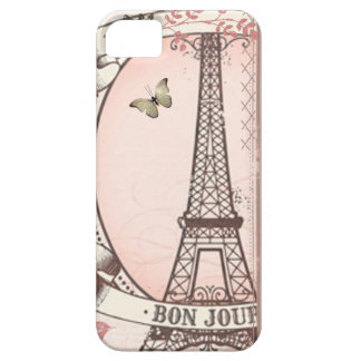 I Was Born to Live in Paris iPhone SE/5/5s Case