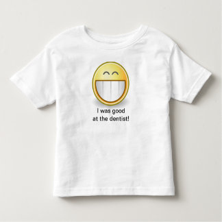 I Was Good at the Dentist Smiley Face - T Shirt